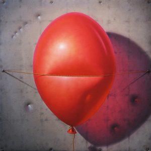 Röd Ballong
