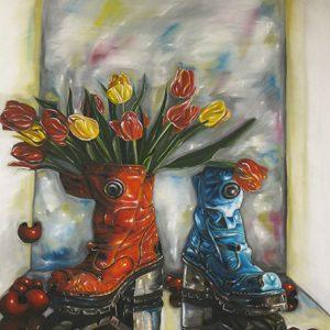 Blomsterkängor