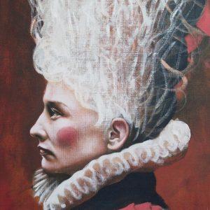 Porträtt av Pella