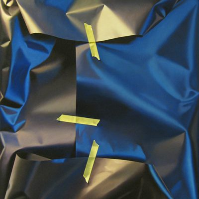 Dark Blue Wrapped Parcel